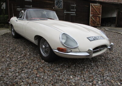 1966 Jaguar E Type Series one Roadster SOLD