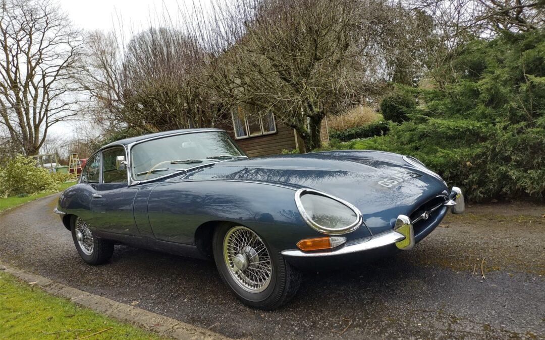 1968 Jaguar E Type 4.2 Series 1.5 FHC. SOLD
