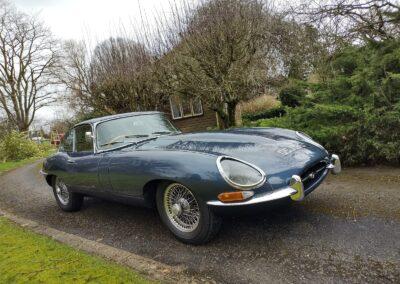 1968 Jaguar E Type 4.2 Series 1.5 FHC £65000 Opalescent Dark Blue Metallic. Chassis number 1E21906.