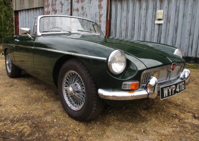 1969 MGB Roadster 1.8 Overdrive SOLD