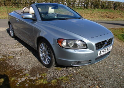 2007 Volvo C70 T5 Cabriolet Automatic, SOLD