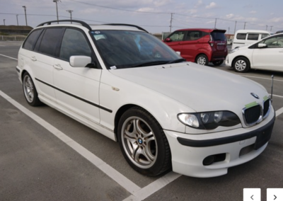 2005 BMW E 46 318 M Sport Touring Automatic. 49000 miles. Arriving in May