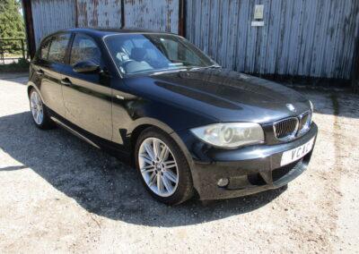 2007/57 BMW 130 M Sport 5 door Automatic. 45000 Miles. £6950
