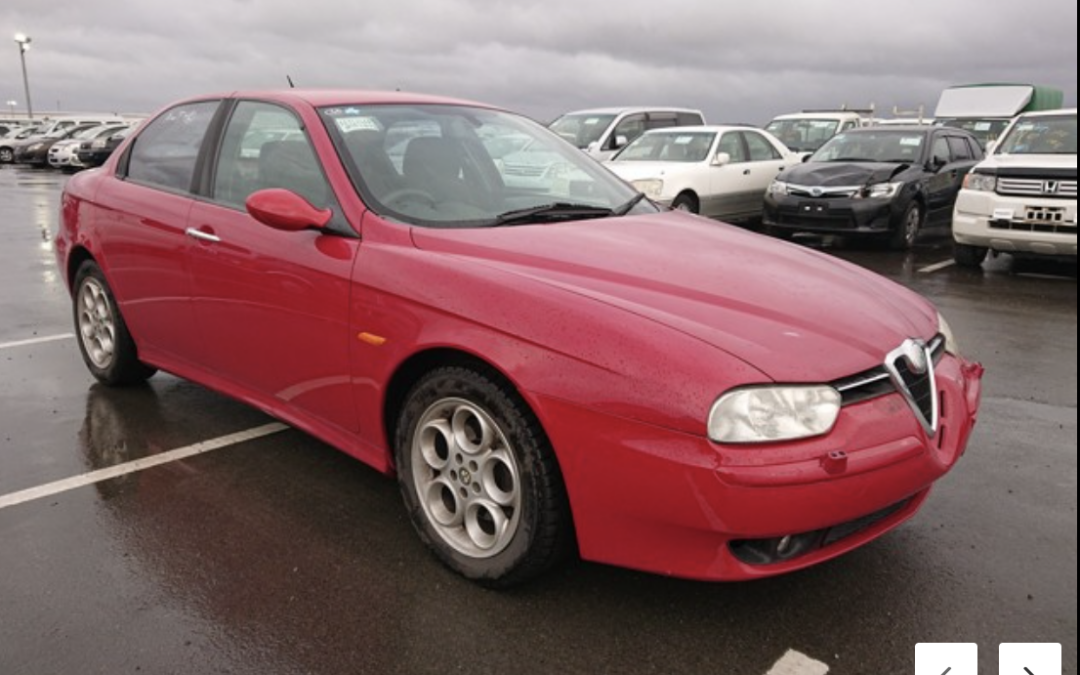 2004 Alfa Romeo 2.5V6 Q System Saloon. 62000miles Arriving in May