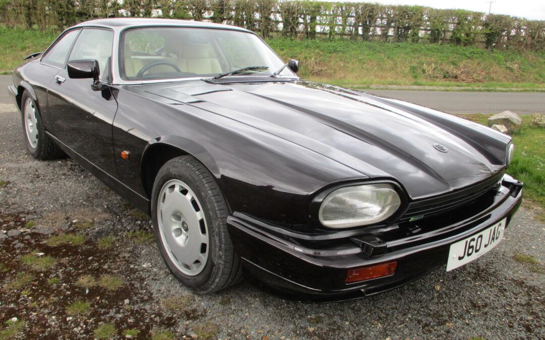 1992 XJRS 6.0 Coupe Black Cherry. £28500