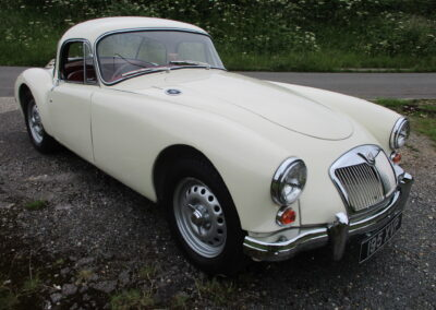 1959 MGA Twin Cam Coupe Restored Car £39000