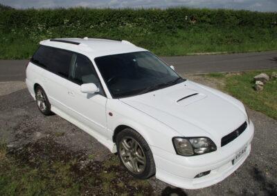 2000 Subaru Legacy GTB Turbo estate Automatic. 28000 miles. £5950