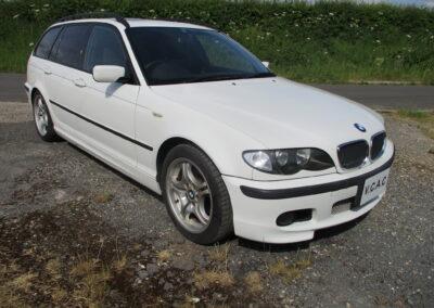 2005 BMW E 46 318 M Sport Touring Automatic. 48500 miles. £5250