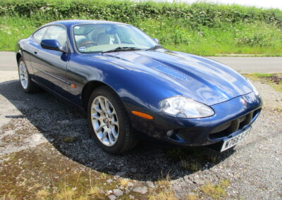 2000 Jaguar XKR Coupe 1 owner car with only 40500 miles from new, SOLD