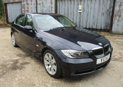 2005 BMW 330 Saloon Highline Automatic. 49000 miles, Highest Graded car In Monaco Blue with Cream Leather interior. Just arrived. SOLD