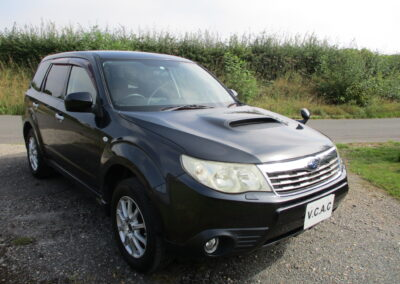 2009 Subaru Forester 2.0XT Turbo Automatic. Black Leather Selection. 58500 miles £7950