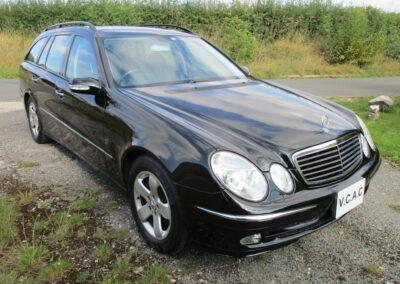 2004 Mercedes E320 Avantgarde Estate Automatic. 49000 miles £6650 Melanite Black Metallic.