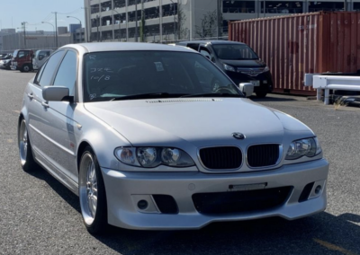 2004 BMW E46 318 Highline Package with Sport Bodykit. 36600 Miles. Due in January 2022.