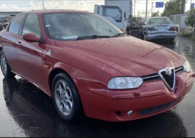 2002 Alfa Romeo 156 2.5 V6 Q System Saloon. 40750 Miles. Coming Soon.DEPOSIT TAKEN