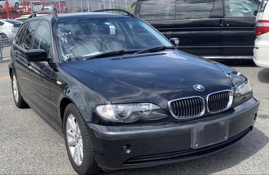 2005 BMW E46 325 Touring Automatic 48000 miles. £6250